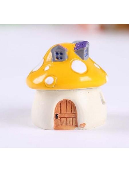 Миниатюра-домик,жёлтый