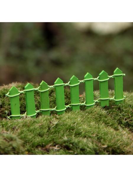 Миниатюра-заборчик.цв-зелёный
