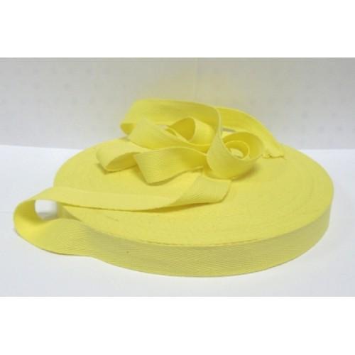 Лентахлопковая( киперная,жёлтая ),20мм,цена за 1 метр