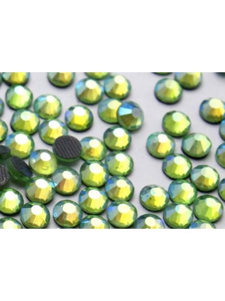 Стразы термоклеевые DMC-SS-16-светло-салатовые,№3,цена за 10 шт