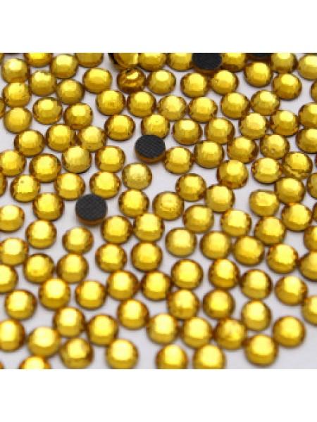 Стразы термоклеевые DMC-SS-20-жёлтые,№9,цена за 10 шт