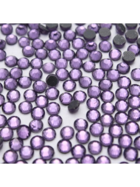 Стразы термоклеевые DMC-SS-16-фиолетовые,№13,цена за 10 шт