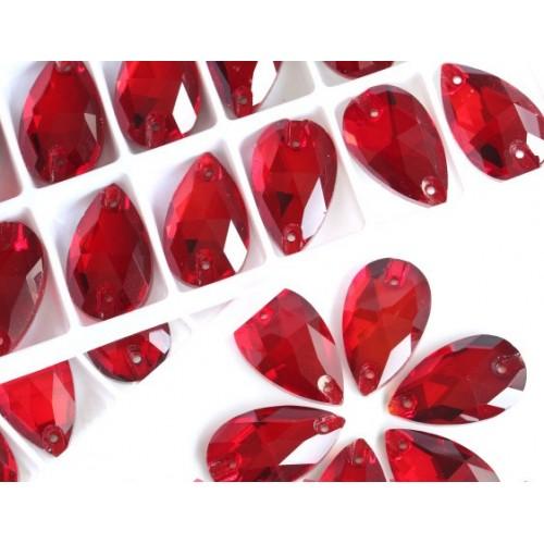 Стразы пришивные,стекло,7*12 мм-№4,капля. цена за 1 шт