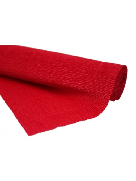 Бумага гофрированная-CARTOTECNICA ROSSI, цв бургундия(красный)  №580
