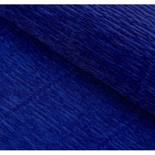 Бумага гофрированная-CARTOTECNICA ROSSI, цв тёмно-синий №555