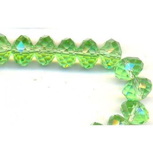 Бусина-стекло гранёное 8*6мм,цв-№9, цена за 1 шт