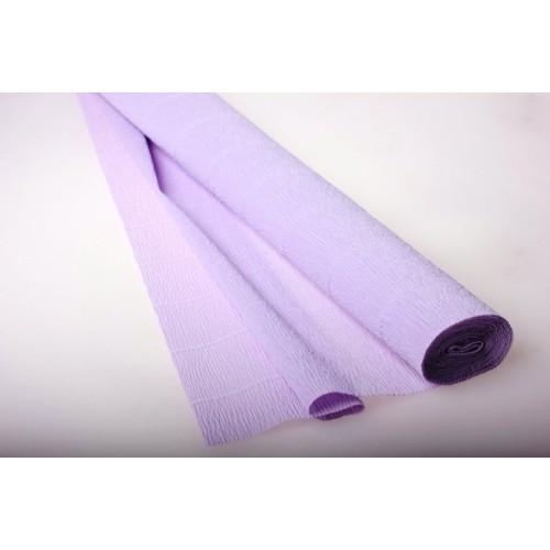 Бумага гофрированная-CARTOTECNICA ROSSI, цв светло-сиреневый  №592
