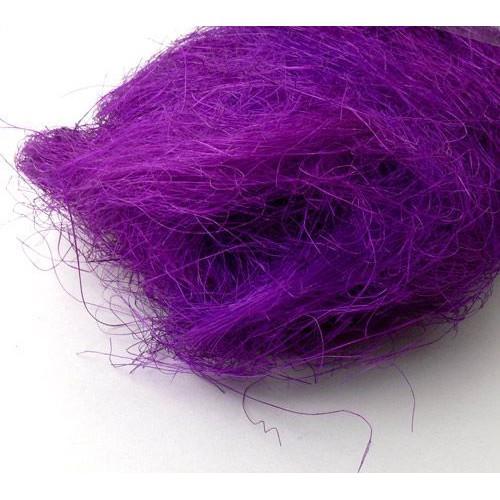 Сизаль,цвет ярко фиолетовый,40гр