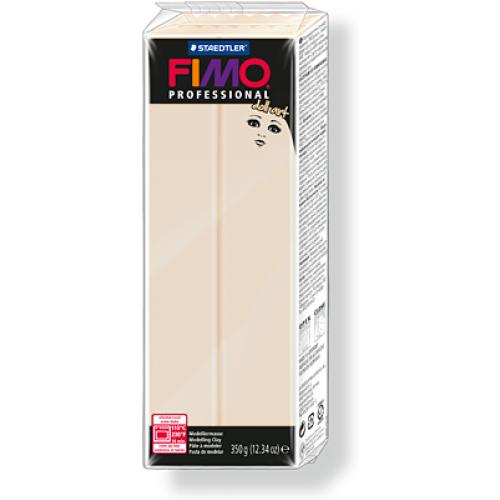 Полимерная глина FIMO professional doll art 454гр(Германия)-полупрозрачный бежевый