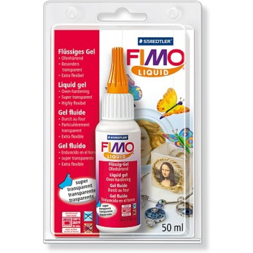 Декоративный гель FIMO Liquid, жидкая пластика ,50мл