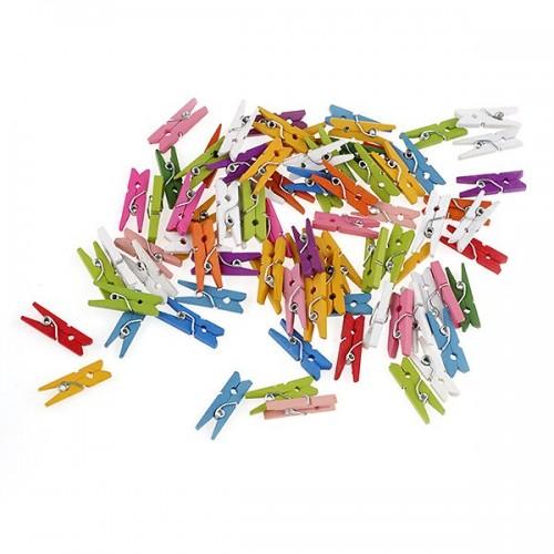 Прищепка декоративная - маленькая,цв-фиолетовый,№10