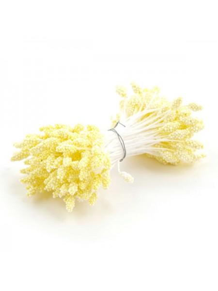 Тычинки  гроздевидные жёлтые