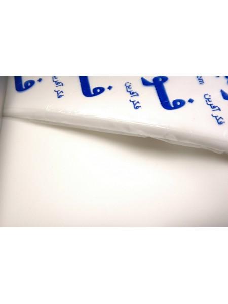 Фоамиран-белый №1, 30*35см