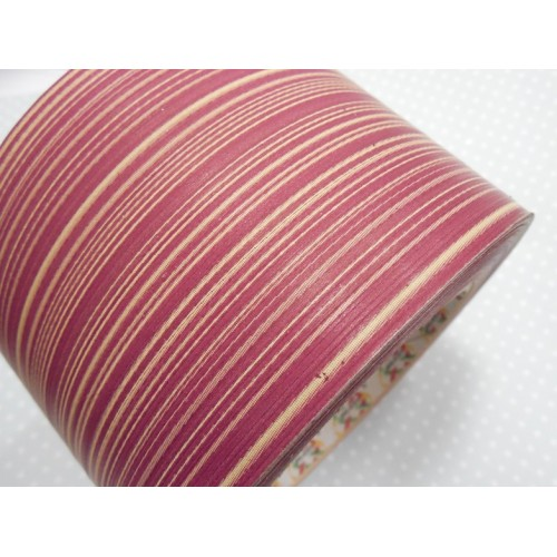 Лента аспидистр-бордовая.шир 8см, цена за 1 метр