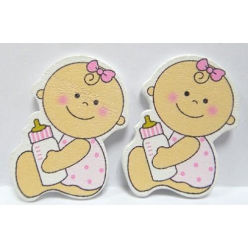 Стикер Малышка-3(без клеевого слоя),цена за 1шт