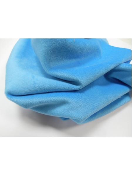 Велюр(плюш),50*50см,,голубой