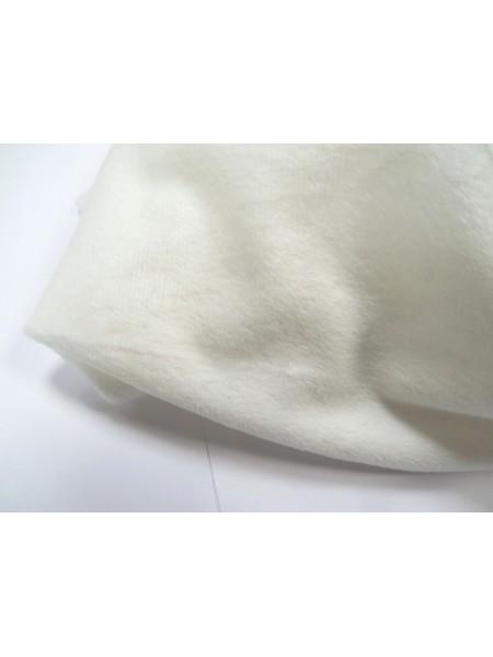 Велюр(плюш),50*50см,молочный