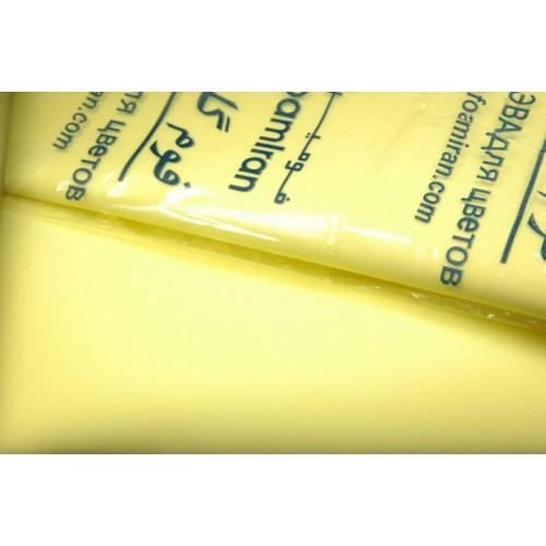 Фоамиран-жёлто-лимонный №4, 30*35см