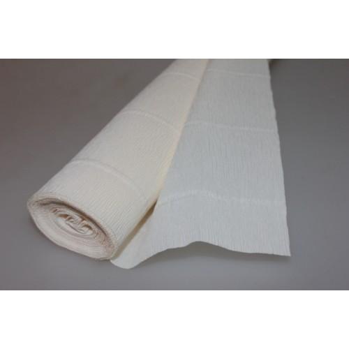 Бумага гофрированная-CARTOTECNICA ROSSI, цв слоновая кость №603