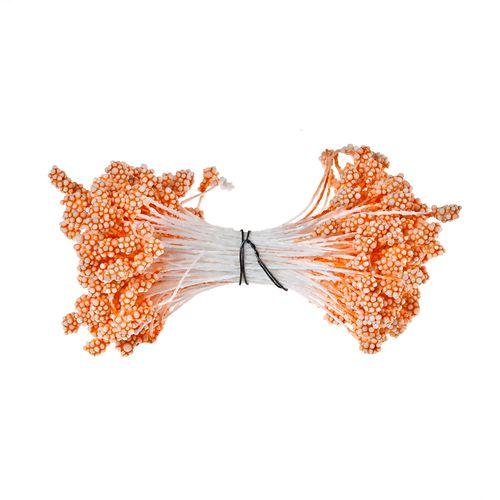 Тычинки  гроздевидные,оранжевые