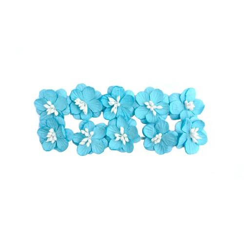 Цветок вишни-синий,цена за 1 шт