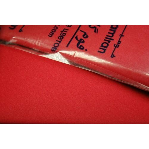 Фоамиран-красный №12, 30*35см