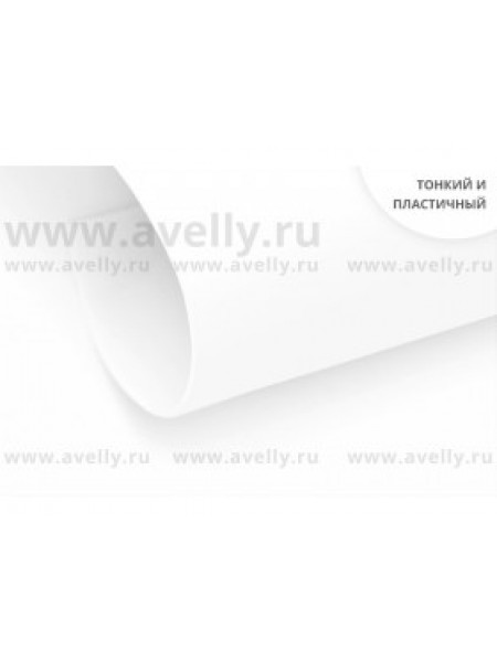 Фоамиран корейский,белый,0,6мм,20*30 см, цена за 1 лист