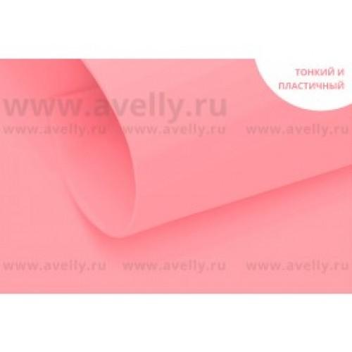Фоамиран корейский,розовый,0,6мм,20*30 см, цена за 1 лист