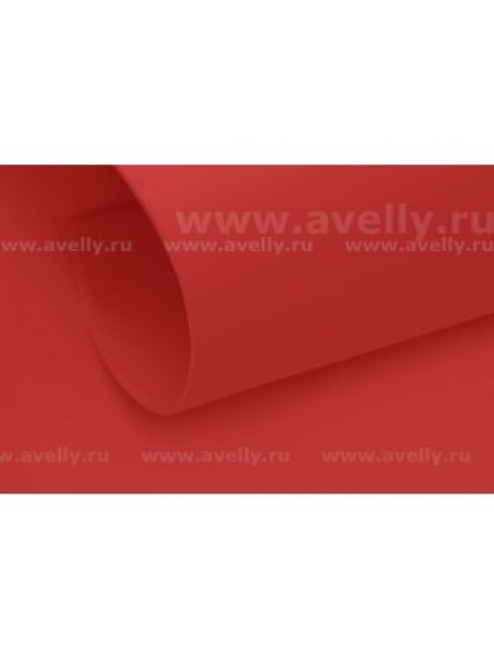 Фоамиран корейский,красный(карминовый),0,6мм,20*30 см, цена за 1 лист