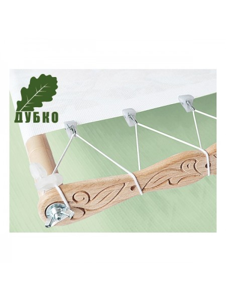 Боковая натяжка канвы для пялец-рамок и станков для вышивания