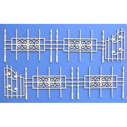 Чипборд № Б-14 -Забор с воротами
