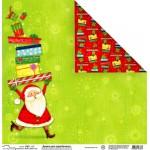 Бумага новогодняя