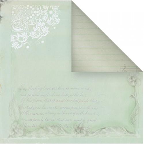 Бумага для скрапбукинга двухсторонняя-Весеннее настроение, 30,5* 30,5 см, 1514-8