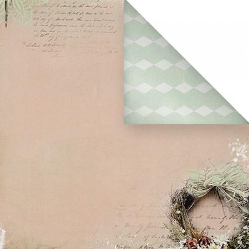Бумага для скрапбукинга двухсторонняя-Весеннее настроение, 30,5* 30,5 см, 1514-2
