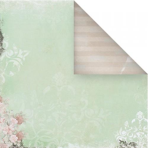 Бумага для скрапбукинга двухсторонняя-Весеннее настроение, 30,5* 30,5 см, 1514-6