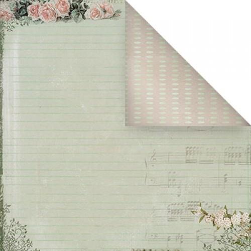Бумага для скрапбукинга двухсторонняя-Весеннее настроение, 30,5* 30,5 см, 1514-4