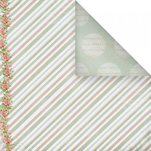 Бумага для скрапбукинга двухсторонняя-Весеннее настроение, 30,5* 30,5 см, 1514-3