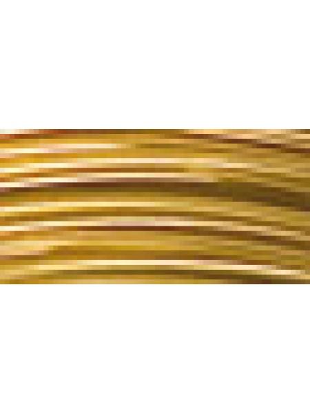 Проволока для плетения AW-1-17-цв- под золото