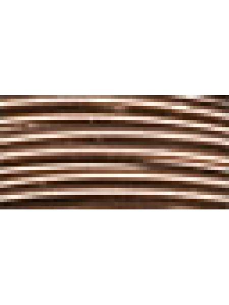 Проволока для плетения AW-1-15,цв-коричневый