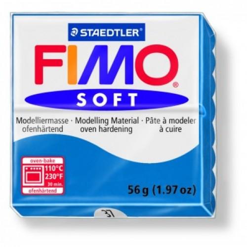 Полимерная глина Фимо FIMO Софт небесно-синий-37