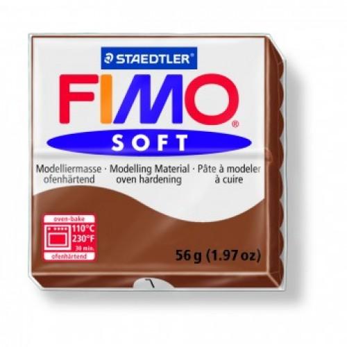 Полимерная глина Фимо FIMO Софт карамель-7