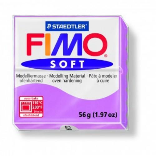 Полимерная глина Фимо FIMO Софт лаванда-62