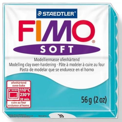 Полимерная глина Фимо FIMO Софт перечная мята-39