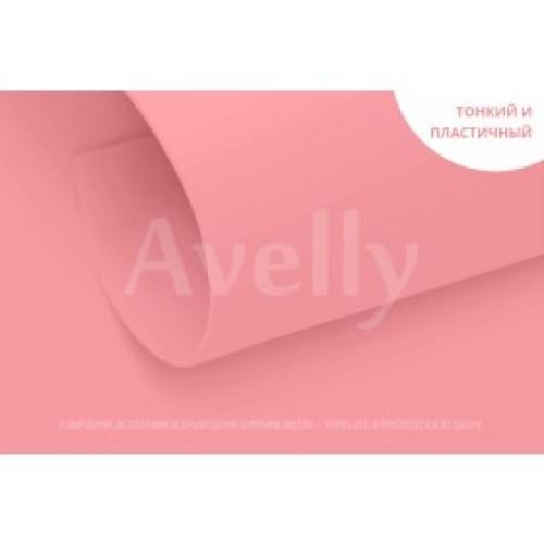 Фоамиран корейский,0,6мм,розовый пион, 20*30 см, цена за 1 лист