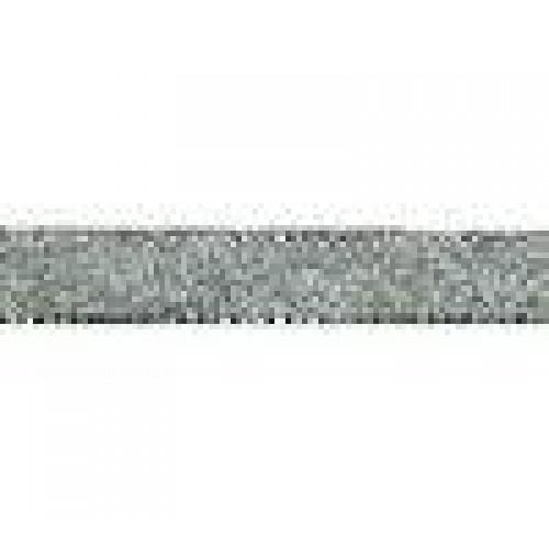 Металлизированная тесьма, серебро,6мм
