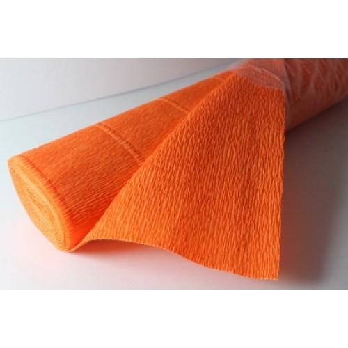 Бумага гофрированная-CARTOTECNICA ROSSI, цв оранжевый  №581
