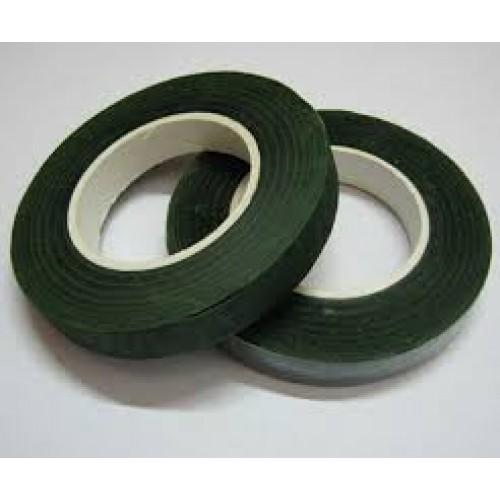 Тейп-лента,цв тёмно-зелёная,13мм