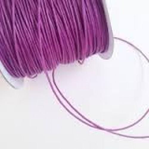 Резинка шляпная, 2,мм,фиолетовая, цена за 1 метр