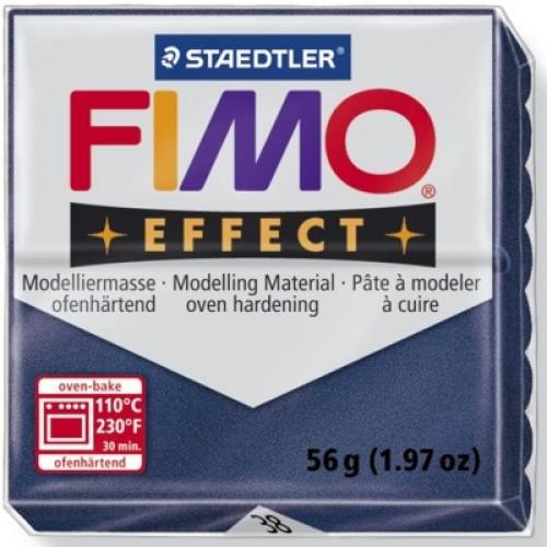 Полимерная глина FIMO effect,57гр,металлик сапфир-38