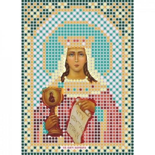 """Набор для вышивки бисером-Икона- """"Св. Великомученица Варвара""""- ММ-009"""